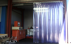 Pvc Strip Curtain Repairs Standish